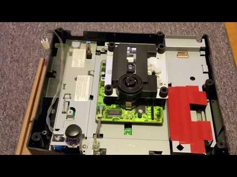 Phantom universal modchip install for Model 2 Sega Saturn