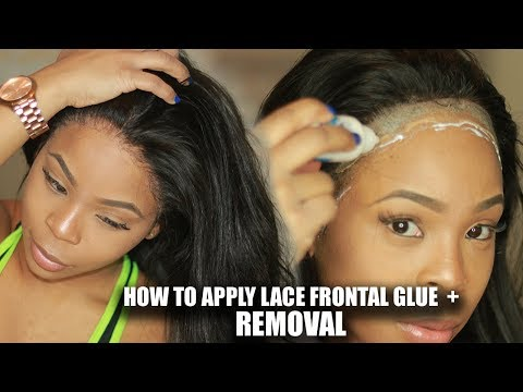 INDUSTRY SECRETS: HOW TO | Apply your Lace Wig Safely with GLUE + REMOVAL  | CHINALACEWIG