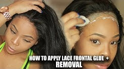 INDUSTRY SECRETS: HOW TO   Apply your Lace Wig Safely with GLUE + REMOVAL    CHINALACEWIG