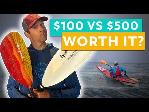 How to Choose a Kayak Paddle   $100 vs $500 Paddles
