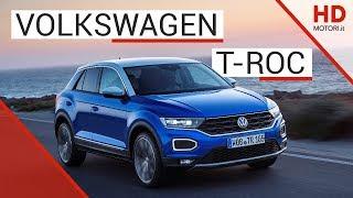 Volkswagen T-Roc: recensione del crossover   1.0 TSI benzina Video