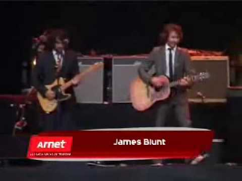 James Blunt - Billy & High - Live From Argentina HD