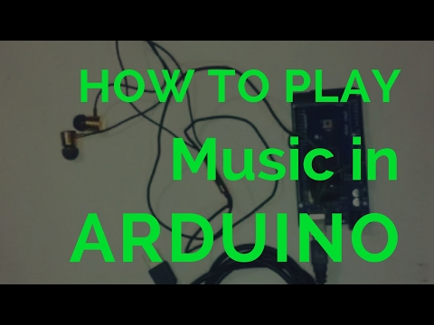 How to play Arduino music in earphone - how to play mario tone in arduino microcontroller board
