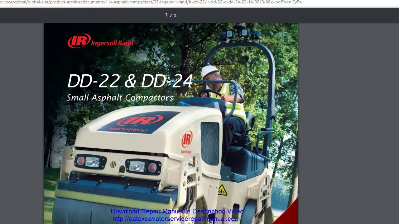 Volvo Dd24 Asphalt Complete Service Repair Manual on