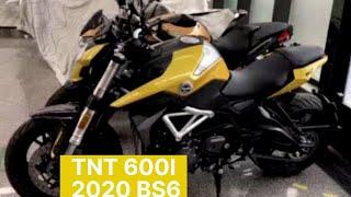 Benelli TNT 600i 2020   Benelli TNT 600i BS6   Rich India Moto