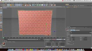 Cinema 4D Tutorial : Texture Mapping