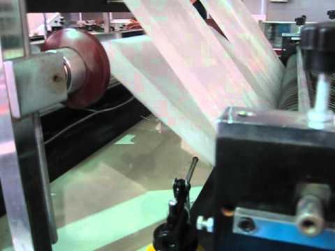 6 lines sealing and cutting bag machine-- Zhejiang Zhuxin Machinery Co.,ltd.