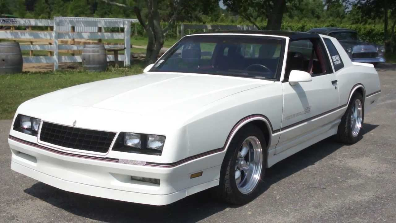 1986 Monte Carlo SS For Sale~New Paint~350~700R Trans~373