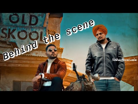 Old Skool Original  Behind The Scene  Prem Dhillon  Sidhu Moosewala  Rahul Chahal  Tdot Films
