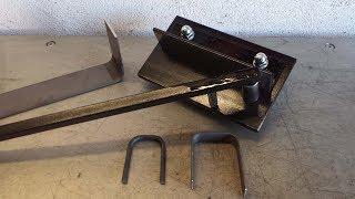 biegevorrichtung selber bauen rundstahl und flacheisen biegen metall biegeger t biegemaschine. Black Bedroom Furniture Sets. Home Design Ideas