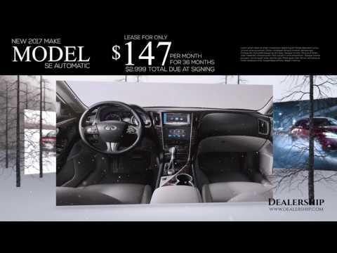 Car dealer winter theme video production