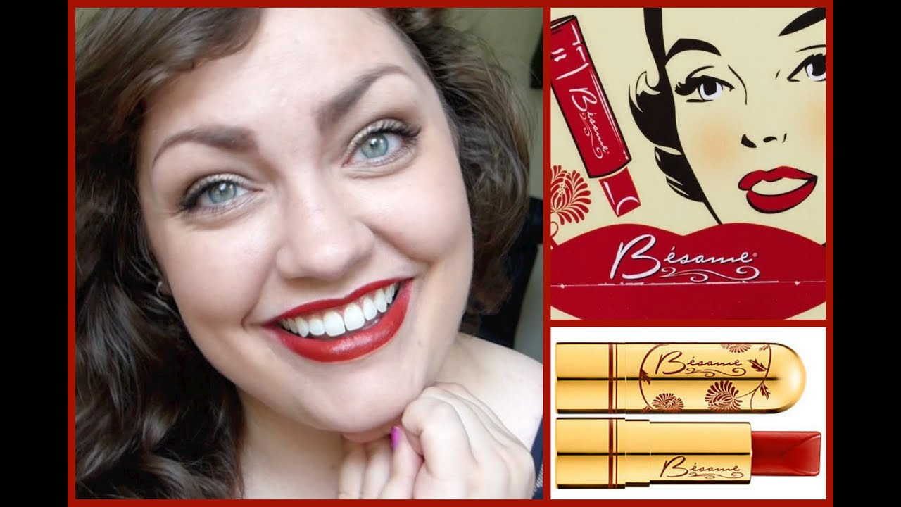 Bésame Classic Color Lipstick: First Impression + Review ...