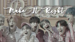 make it right -- BTS