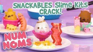 Num Noms   Snackables Slime Kits - Crack!   Official Play Video