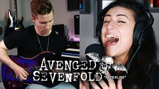 Gambar cover AVENGED SEVENFOLD – Afterlife (Cover by Lauren Babic ft. Cole Rolland)