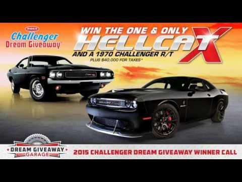 Dream giveaway challenger