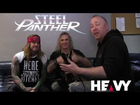 HEAVY TV Interviews Steel Panther