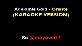 Adekunle Gold - Orente (Instrumental)