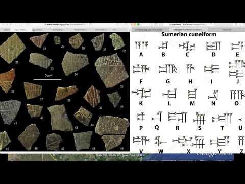 sumerian writing abc youtube