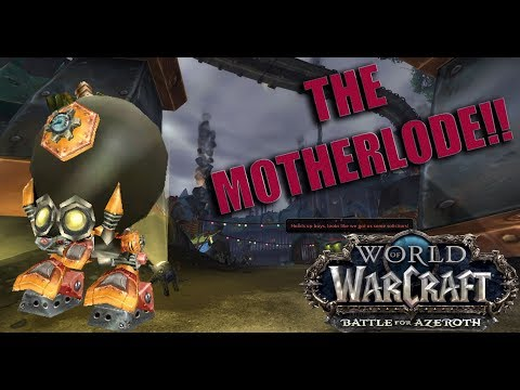 World of Warcraft: Battle for Azeroth (Alpha) THE MOTHERLODE! Full Dungeon - Demonology Warlock