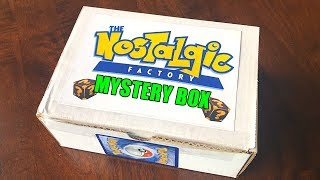 OPENING POKEMON CARDS MYSTERY BOX from NOSTALGIC FACTORY!