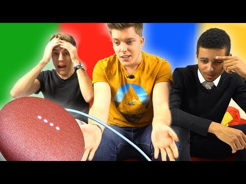 Google Home Mini VS YouTubers feat. Anonimal et Mastu