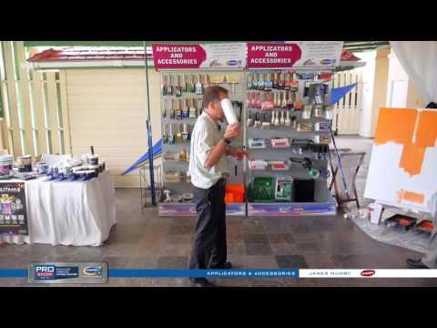 Harris Pro Show Demo - Dynamic Rollers Applicators