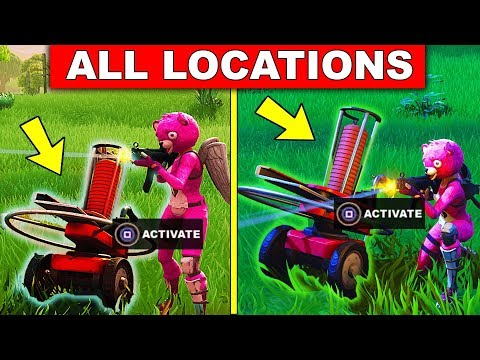 """Shoot A Clay Pigeon At Different Locations"" ALL LOCATIONS Fortnite WEEK 3 SEASON 5 CHALLENGES"