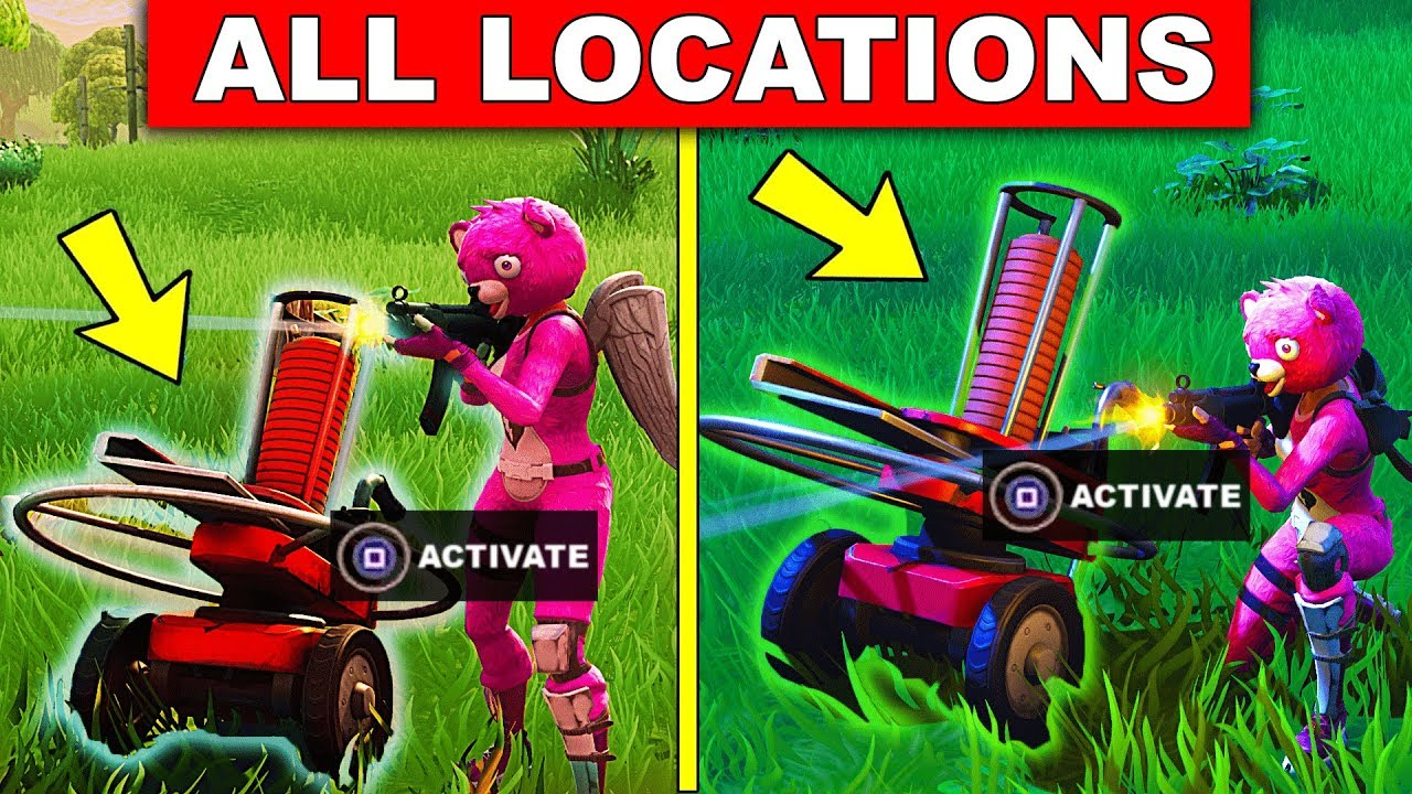 Shoot A Clay Pigeon At Different Locations All Locations Fortnite