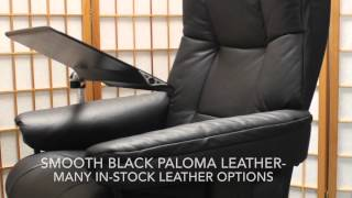 Ekornes Stressless Mayfair Office Chair | Black Paloma Leather
