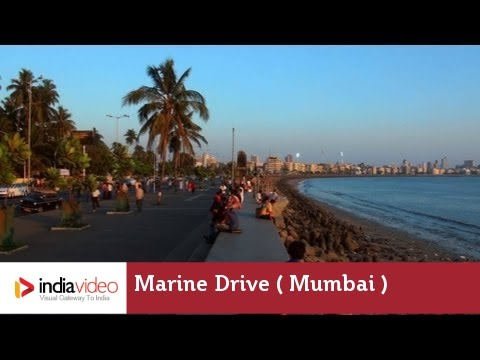 Marine Drive - An ideal spot  in Mumbai to relax