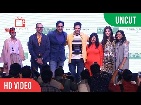 UNCUT - United Colors Of Benetton Spring Summer 2017 Launch | Sidharth Malhotra