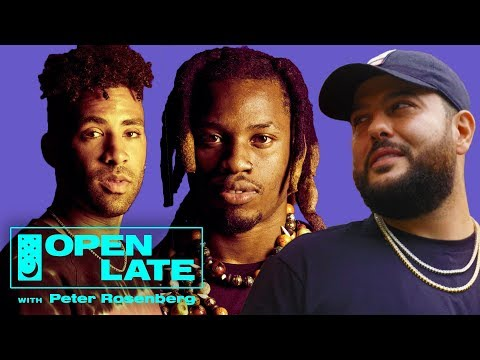 Denzel Curry and Kyle, Plus Belly Freestyles With Bear the Dog | Open Late with Peter Rosenberg