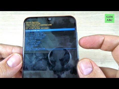 HARD RESET Samsung Galaxy A10, A20, A30, A40, A50 & A70 (2019)