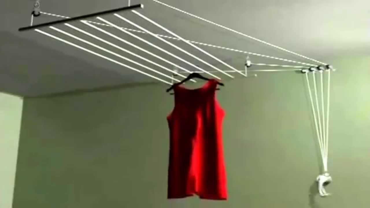 Tendal con manivela secasol per youtube - Tendederos de interior ...