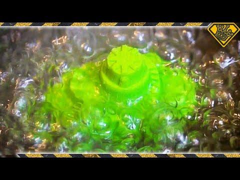 Boiling Green Kinetic Sand