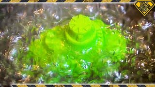 Boiling Green Kinetic Sand