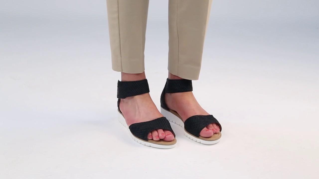 0d70f433cda5 Gabor Penny Nightblue Cobra Nubuck Sandals - YouTube