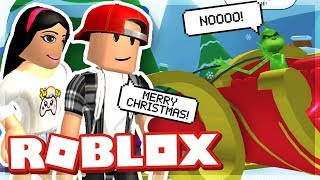SAVING CHRISTMAS FROM ZAILETSPLAY - ROBLOX THE GRINCH OBBY