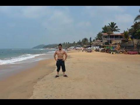 アキーラさんお薦め④インド・ゴア・アンジュナビーチ・ヌーディストビーチ?Anjuna beach in Goa in India