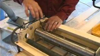 Woodmaster Planer/molder Part 7(a): Making Molding With Gary Striegler