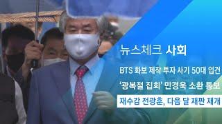 '재수감' 사랑제일교회 전광훈 목사, 다음 달 재판 재개 / JTBC 아침&