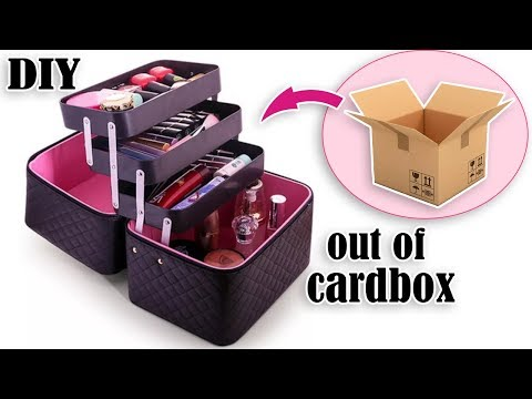 THE BEST DIY ORGANIZER BOX MOVING MECHANISM // Out Of Cardbox Easy to Make By Own Hands