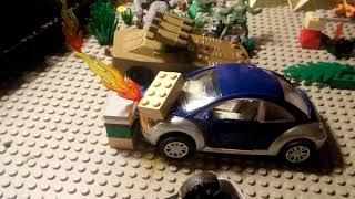 Военные солдатики против Лего серия 4