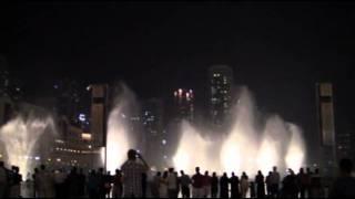 Дубаи 2011. Фонтан 7