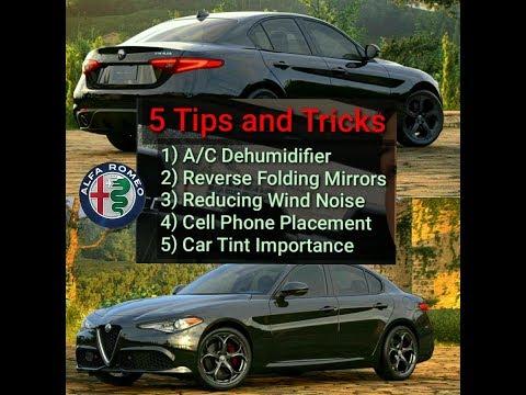 My 5 SPORTS CAR 'Tips and Tricks' - Alfa Romeo Giulia TI Sport Q2