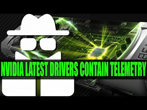 Nvidia Add Telemetry In To Latest Drivers | How To Remove GeForce Experience Telemetry