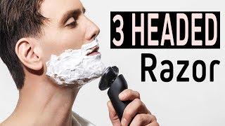 3 Headed  Dry & Wet Shaving Electric Shaver Razor For Men