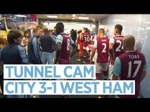 TUNNEL CAM | Manchester City 3-1 West Ham