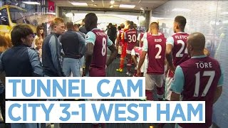 TUNNEL CAM | Manchester City 3-1 West Ham